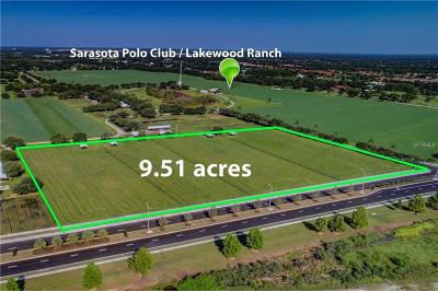 Sarasota Polo Club Residential Lots & Land For Sale: Lorraine Avenue