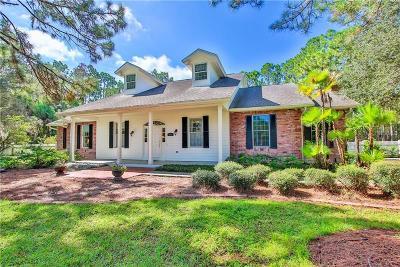 North Port Single Family Home For Sale: 5731 Estates Drive