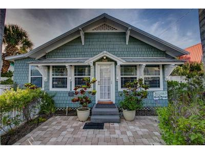 Anna Maria Single Family Home For Sale: 417 Pine Avenue
