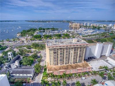 Sarasota Condo For Sale: 101 S Gulfstream Avenue #15E