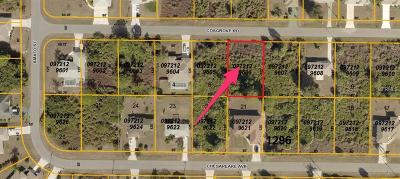Residential Lots & Land For Sale: Cosgrove Rd