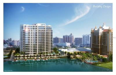 Sarasota County Condo For Sale: 100 Ritz-Carlton Circle #1201