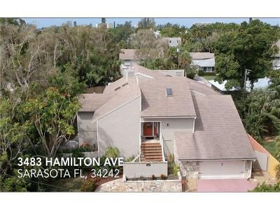 Sarasota Single Family Home For Sale: 3484 Hamilton Avenue
