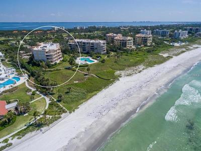 Lakewood Ranch, Lakewood Rch, Lakewood Rn, Longboat Key, Sarasota, University Park, University Pk, Longboat, Nokomis, North Venice, Osprey, Siesta Key, Venice Condo For Sale: 2185 Gulf Of Mexico Drive #214