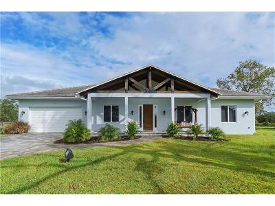 Sarasaota, Sarasota, Sarsota Single Family Home For Sale: 6389 Singletree Trail