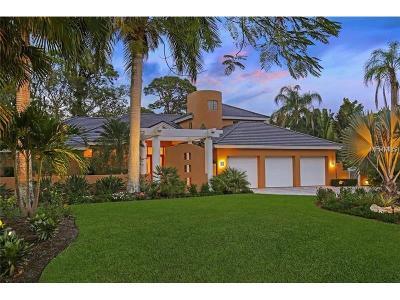 Sarasota Single Family Home For Sale: 1615 S Lake Shore Drive