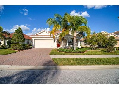 Venice Single Family Home For Sale: 11461 Dancing River Drive