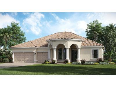 Venice Single Family Home For Sale: 13357 Caravaggio Court