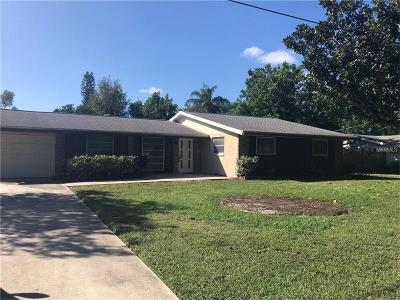 Sarasota Single Family Home For Sale: 2902 Pinecrest Street