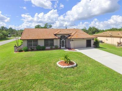 Port Charlotte Single Family Home For Sale: 3059 Tamarind Street