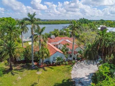 Sarasota Single Family Home For Sale: 535 S Blvd Of Presidents Boulevard
