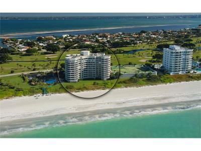 Bradenton, Longboat Key, Sarasota, Longboat, Nokomis, North Venice, Osprey, Siesta Key, Venice Condo For Sale: 775 Longboat Club Road #501