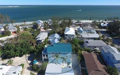 Anna Maria Single Family Home For Sale: 806 N Bay Boulevard