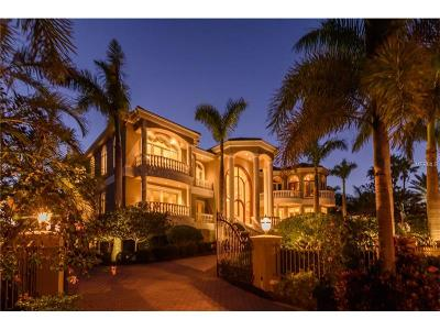 Longboat Key FL Single Family Home For Sale: $18,000,000