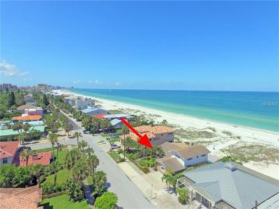 Clearwater, Clearwater Beach Single Family Home For Sale: 834 Eldorado Avenue