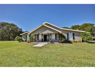 Myakka City Single Family Home For Sale: 12750 Sugar Bowl Road