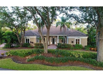Osprey FL Single Family Home For Sale: $1,100,000