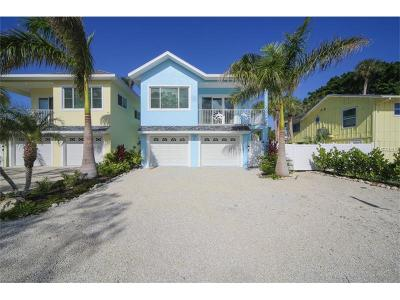 Holmes Beach Single Family Home For Sale: 306 60th Street #B