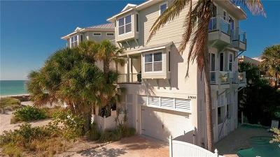 Bradenton Beach Multi Family Home For Sale: 2500 Gulf Drive N