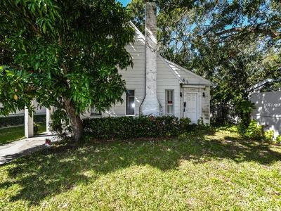 Sarasota Single Family Home For Sale: 1124 S Orange Avenue