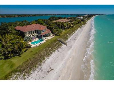Naples, Marco Island, Sanibel, Captiva, Longboat Key, Sarasota, Osprey, Nokomis, Boca Grande Single Family Home For Sale: 2305 Casey Key Road