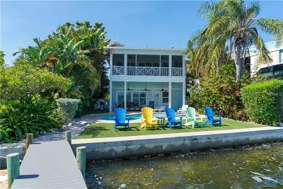 bradenton beach Single Family Home For Sale: 303 Bay Drive N