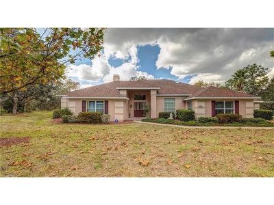Homosassa Single Family Home For Sale: 24 Black Willow Court N