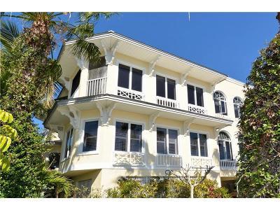 Bradenton Beach Townhouse For Sale: 110 4th Street S