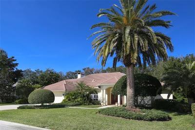 Sarasota Single Family Home For Sale: 8596 Woodbriar Drive