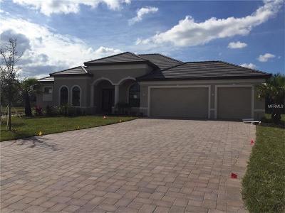 Bradenton Single Family Home For Sale: 1067 145th Street Circle NE
