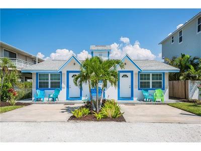 bradenton beach Single Family Home For Sale: 2515 Avenue C