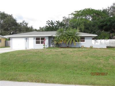 Sarasota Single Family Home For Sale: 2301 La Salle Street