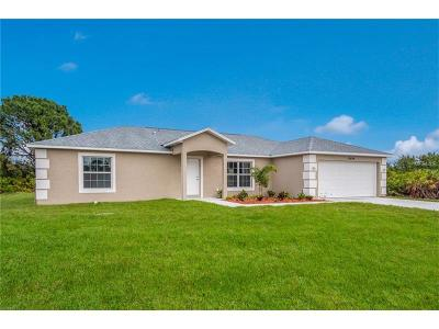 Charlotte County Single Family Home For Sale: 10371 Grail Avenue