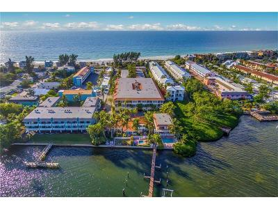 Bradenton Beach Condo For Sale: 1325 Gulf Drive N #169