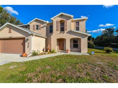 North Port Single Family Home For Sale: 4390 S Cranberry Boulevard
