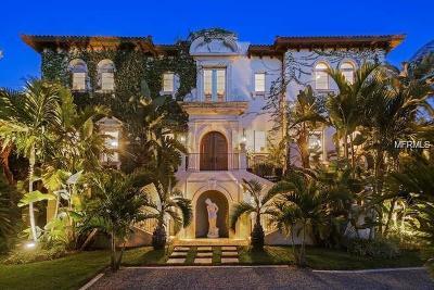 Sarasota FL Single Family Home For Sale: $4,995,000