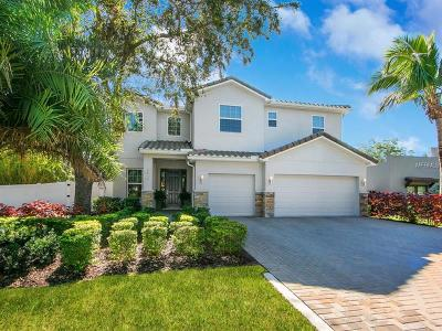 Sarasota Single Family Home For Sale: 1836 Orchid Street