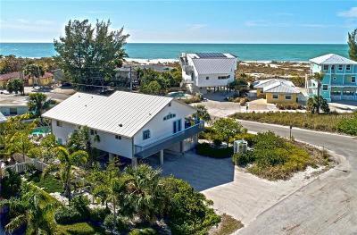 Anna Maria Single Family Home For Sale: 744 North Shore Drive