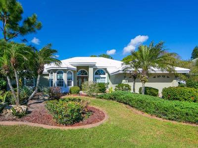 Nokomis Single Family Home For Sale: 2015 Calusa Lakes Boulevard