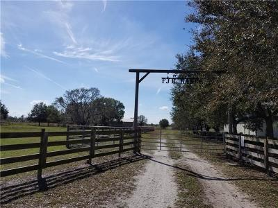 Myakka City Residential Lots & Land For Sale: 33720 Singletary Road