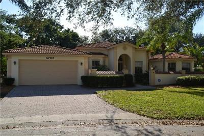 Single Family Home For Sale: 4703 Country Manor Drive