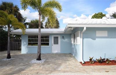 Venice Single Family Home For Sale: 6 Cornwell On The Gulf