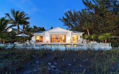 Longboat Key Single Family Home For Sale: 6061 Gulf Of Mexico Drive