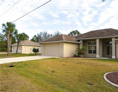Port Charlotte Single Family Home For Sale: 13497 Palau Circle