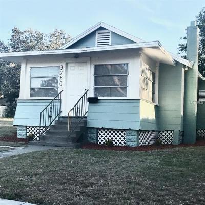 St Petersburg Single Family Home For Sale: 3780 29th Avenue S