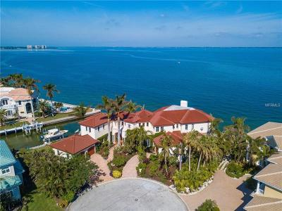 Longboat Key FL Single Family Home For Sale: $5,850,000
