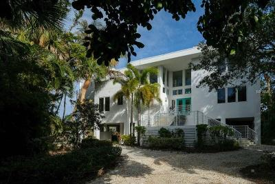 Sarasota Single Family Home For Sale: 111 Ocean Place