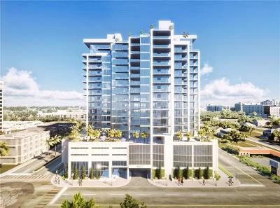 Sarasota Condo For Sale: 1224 Blvd Of The Arts #PH1