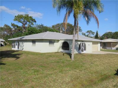 Venice Single Family Home For Sale: 248 Cowry Road