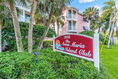 Bradenton Beach Condo For Sale: 2600 Gulf Drive N #41